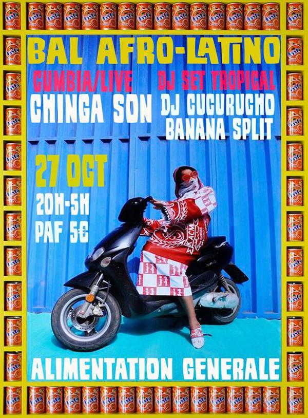 BAL AFRO-LATINO INVITE CHINGA SON