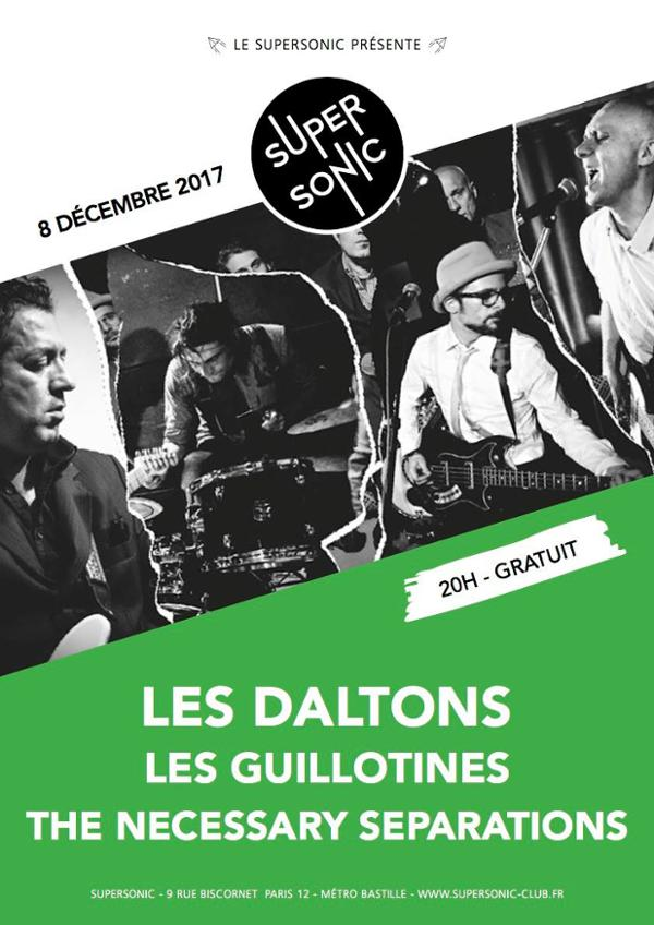 Les Daltons • Les Guillotines • The Necessary Separations / Free