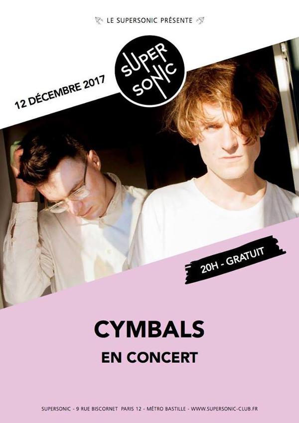 Cymbals (Tough Love) en concert au Supersonic / Free