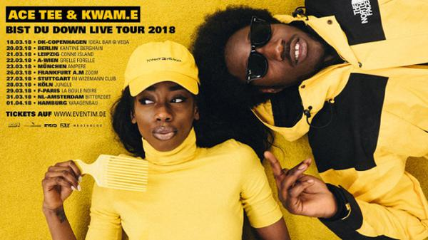Ace Tee & Kwam.e • La Boule Noire • Paris