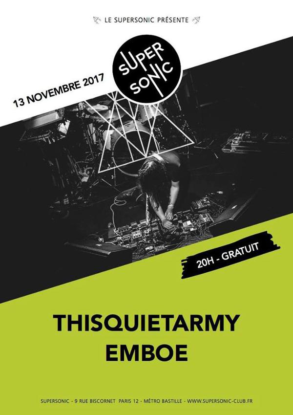 Thisquietarmy • Emboe / Supersonic - Free