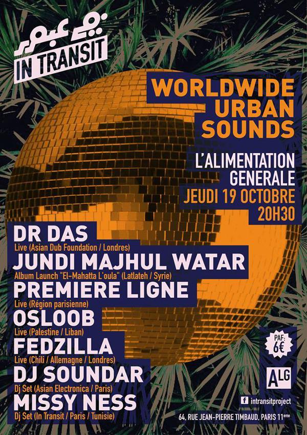 IN TRANSIT #5 : WORLDWIDE URBAN SOUNDS