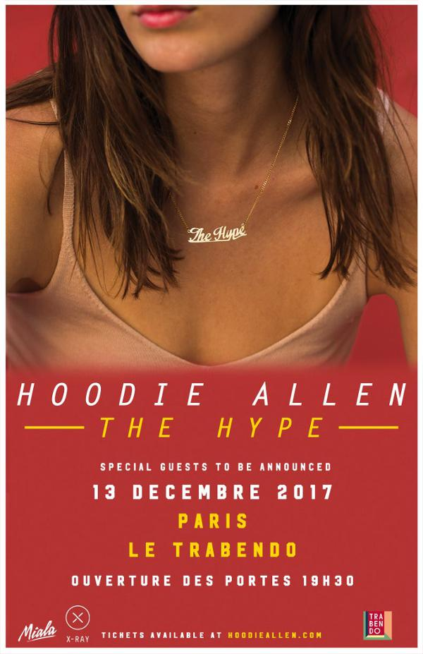 Hoodie Allen : The Hype Tour - Paris, Trabendo