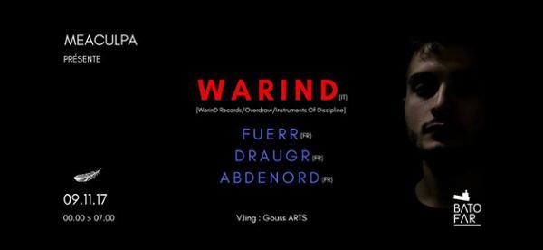 MEACULPA W/ WARIND, FUERR, DRAUGR, ABDÉNORD
