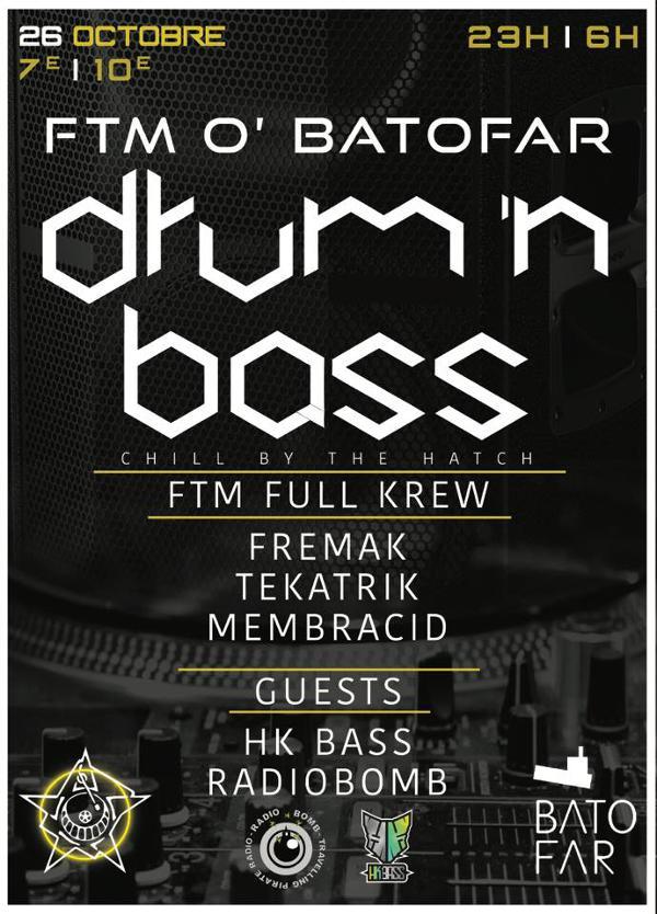 FTM O Batofar-Drum&Bass Party