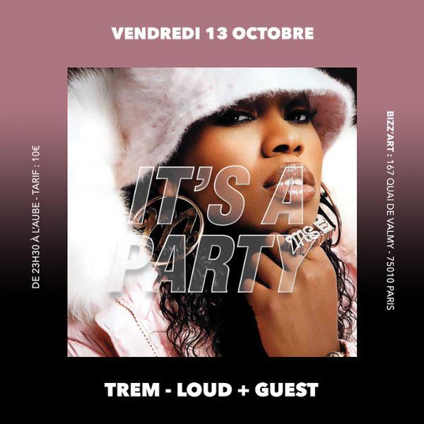 IT'S A PARTY vendredi 13 octobre au BIZZ'ART.