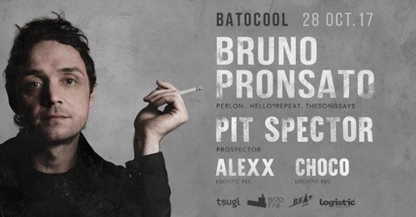 Batocool live! Bruno Pronsato Pit Spector