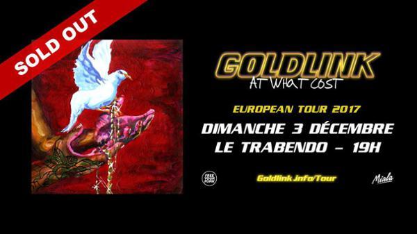 GoldLink • 3 décembre 2017 • Trabendo