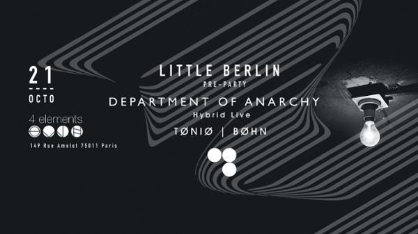 Little Berlin In Paris w / Department of Anarchy