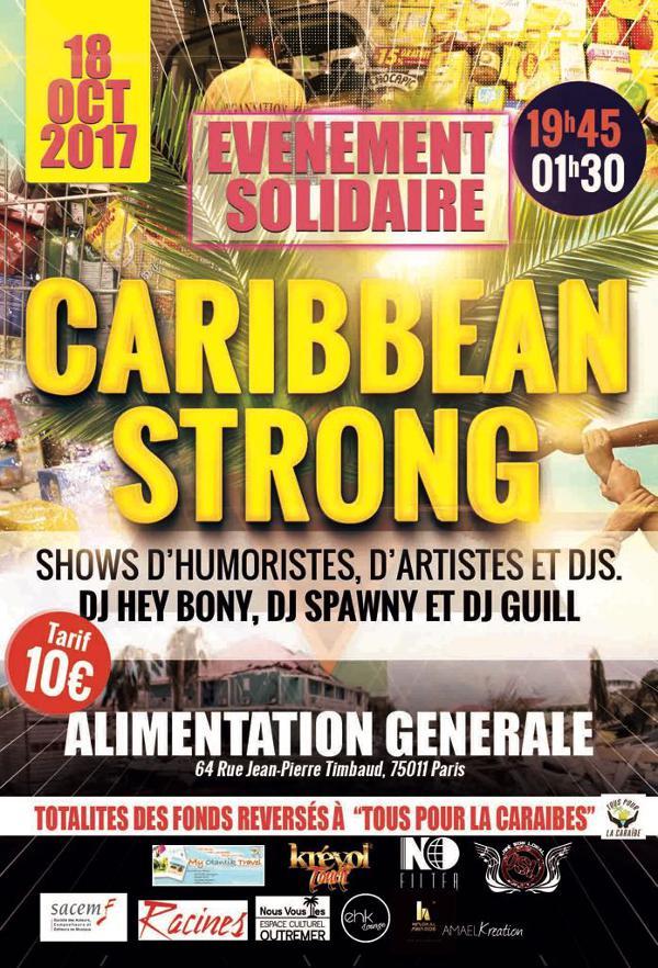 Caribbean Strong : Evénement Solidaire