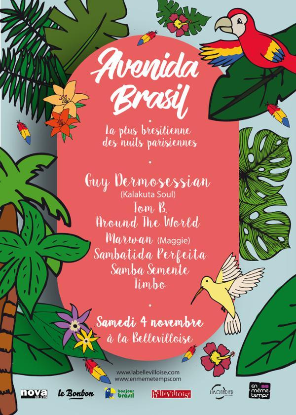 AVENIDA BRASIL : UN PEU DE CHALEUR AVANT L'HIVER !