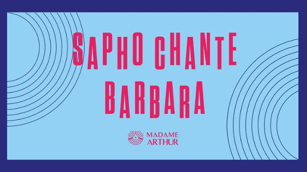 French Collection - Sapho chante Barbara