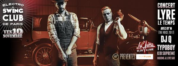 Electro Swing Club Spéciale Concert LYRE LE TEMPS full band