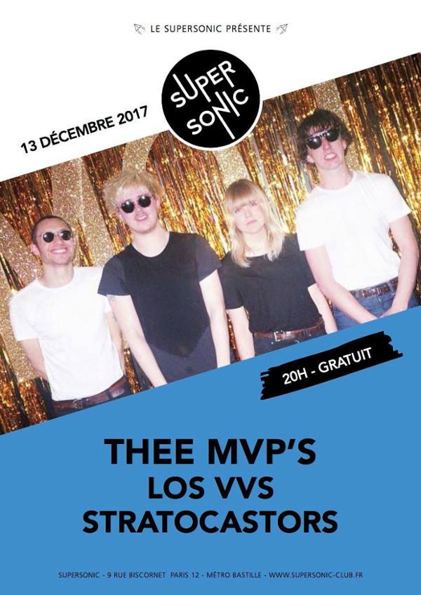 Thee MVPs • Los VVS • Stratocastors