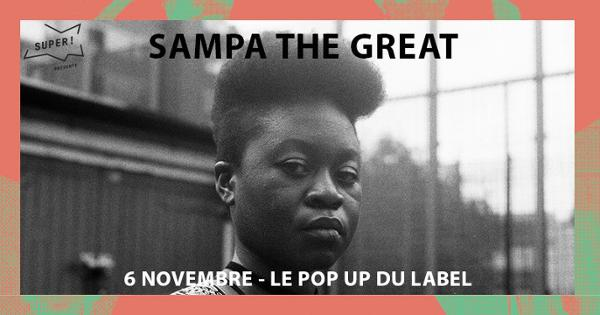 Sampa The Great @ Popup!