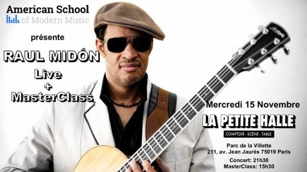 RAUL MIDÒN Live & Masterclass