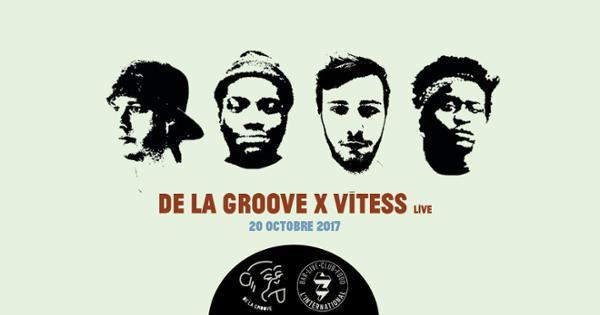 De La Groove x Vitess (live) à L'International