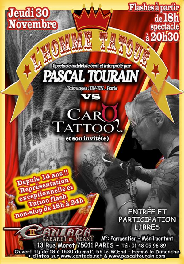 L'Homme Tatoué vs Caro Tattoo !!!