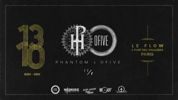 Phantom x OFIVE II/V