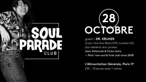 SOUL PARADE #58 INVITE DR KRUGER (UK)