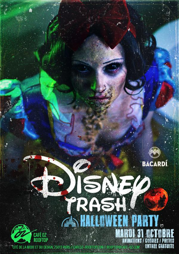 Disney Trash // Halloween Party