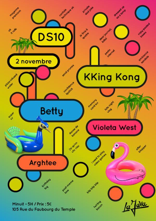 Dancing Shoes #10 | KKing Kong, Betty, Violeta West & Arghtee