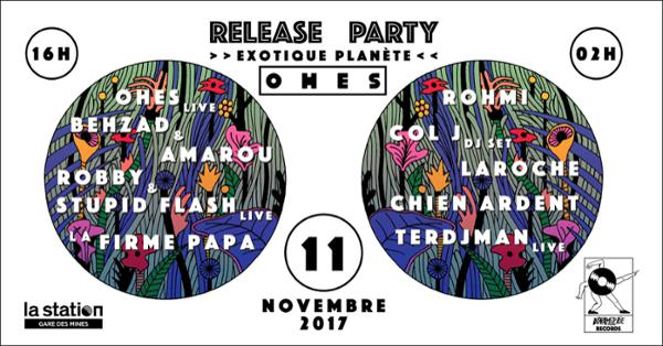 """Dynamiterie Records - """"Exotique Planète"""" Release Party"""
