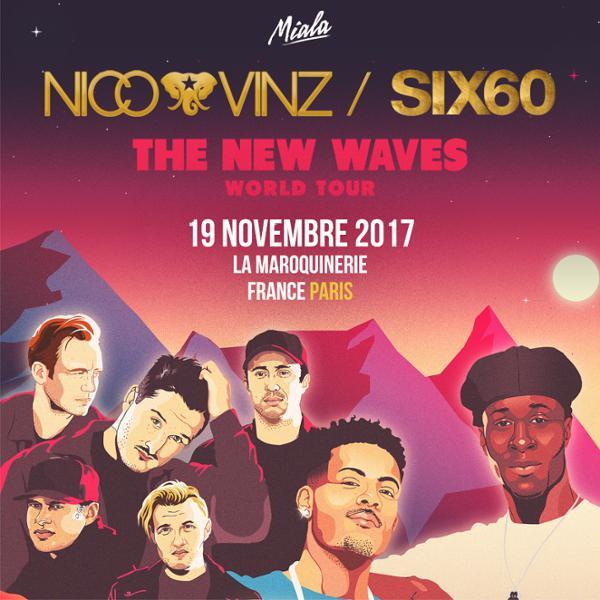Nico & Vinz / Six60 - La Maroquinerie