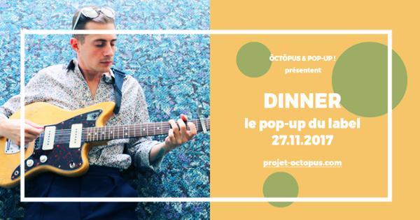 Dinner + Jannis Noya Makrigiannis @ POPUP!
