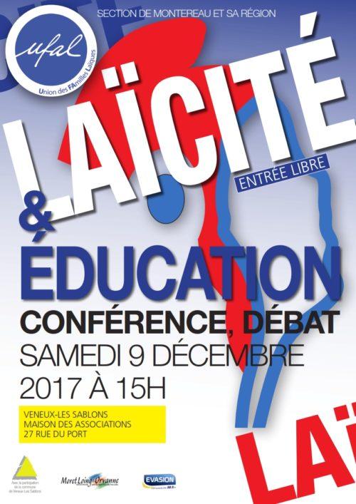 Conférence débat Laïcité / Edcuation
