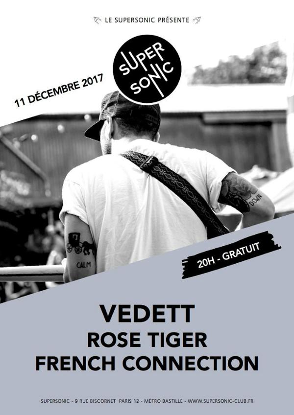 VedeTT • Rose Tiger • French Connection / Supersonic - Free