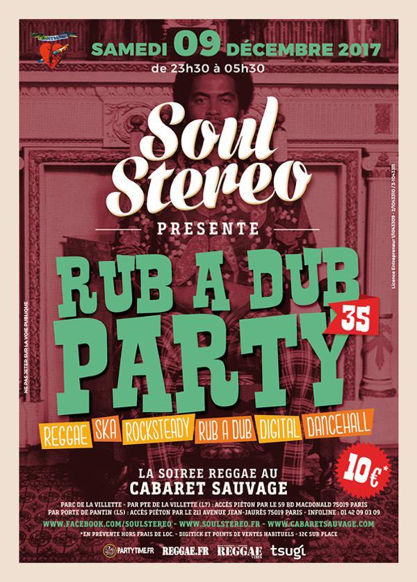 RUB A DUB PARTY #35