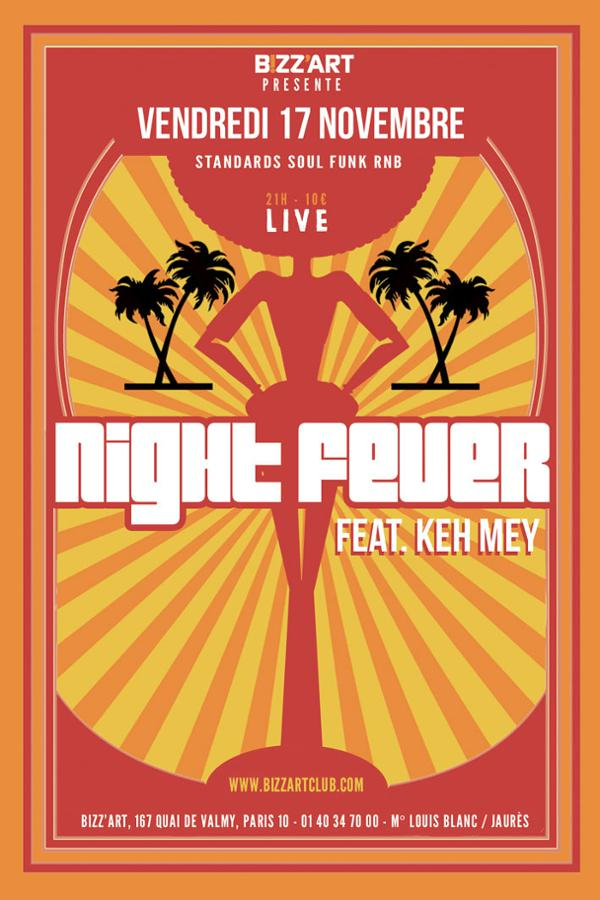 NIGHT FEVER feat. KEH MEY