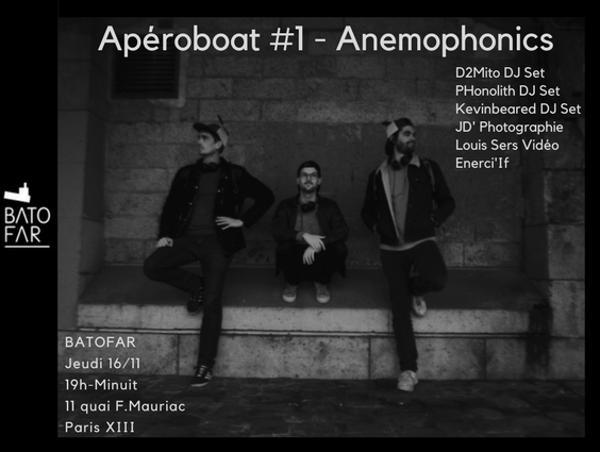 APEROBOAT #ANEMOPHONICS
