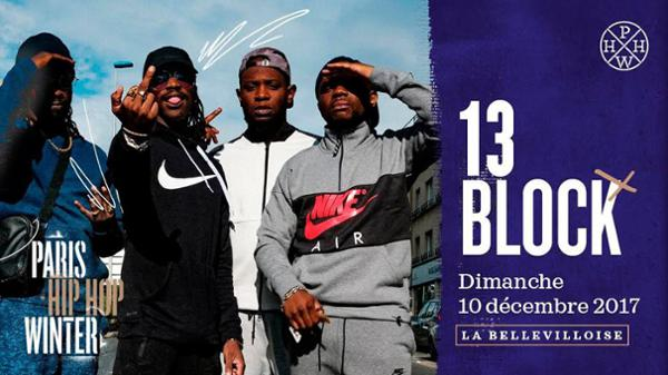 PARIS HIP HOP WINTER 2017 : 13 BLOCK