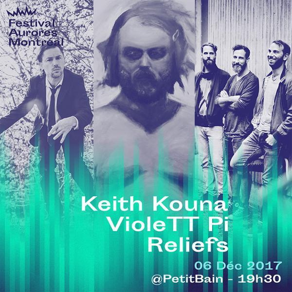 KEITH KOUNA + VIOLETT PI + RELIEFS