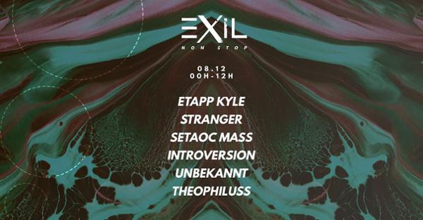Exil Non Stop : Etapp Kyle, Stranger & more