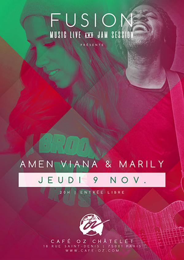 Fusion // Marily & Amen Viana