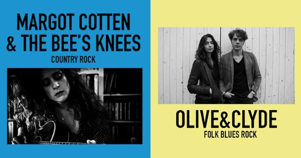 OLIVE&CLYDE et MARGOT COTTEN & THE BEE'S KNEES