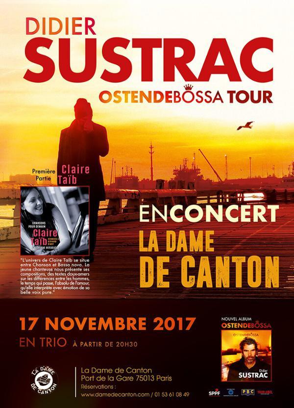 DIDIER SUSTRAC showcase + 1ère partie Claire Taïb