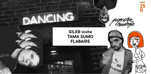 Popcorn Records présente Tama Sumo et Flabaire