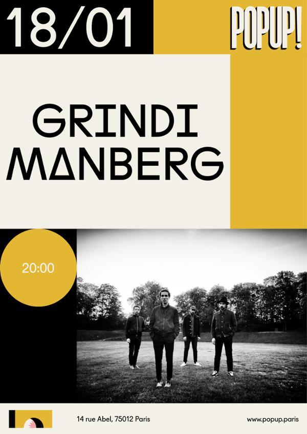Grindi Manberg + Venice Bliss @ Popup!