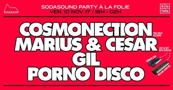 Sodasound party à La Folie !