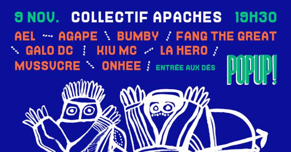 Collectif Apaches @ Popup!