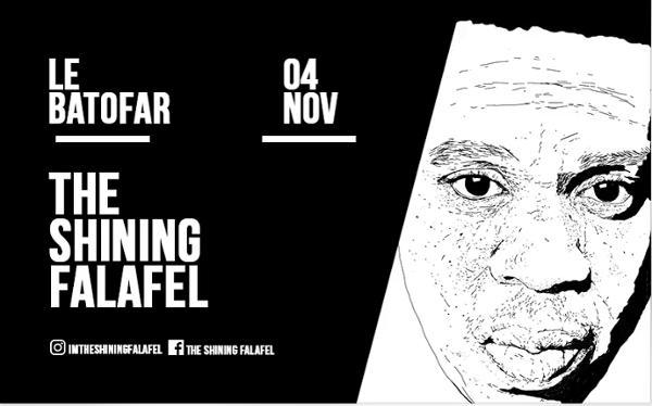 APEROBOAT #LE FALAFEL S'EXHIBE À NOUVEAU !
