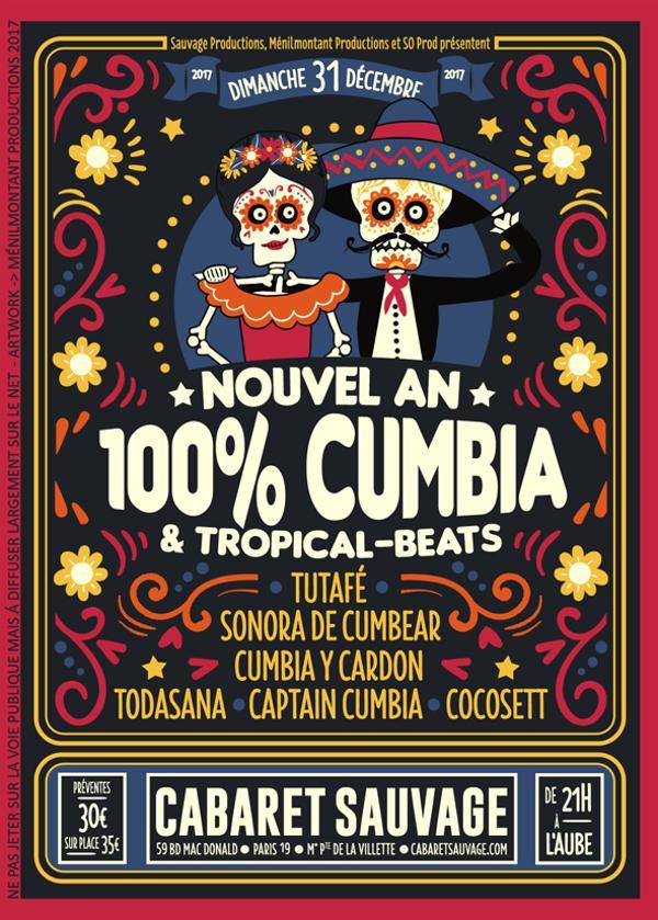 NOUVEL AN 100% CUMBIA !