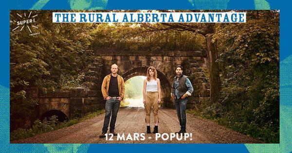 The Rural Alberta Advantage @ Popup!