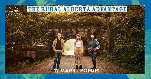 The Rural Alberta Advantage @ Popup!