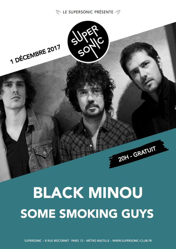 Black Minou • Some Smoking Guys / Supersonic - Free