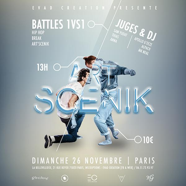 BATTLE ART'SCENIK - EDITION 2017